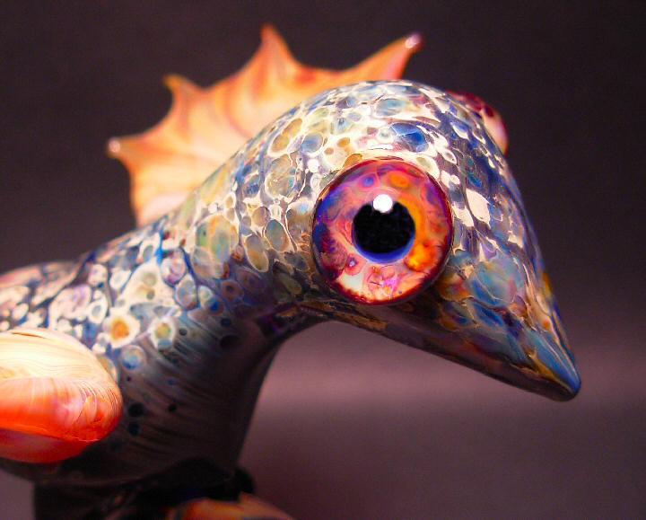 Boro Beads - 5Fish - Handmade Italian Murano/Borosilicate/Pyrex Glass Lampwork Beads by Karl Tseu