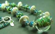 5Fish - Handmade Custom Lampwork Glass Necklaces by Krista Tseu