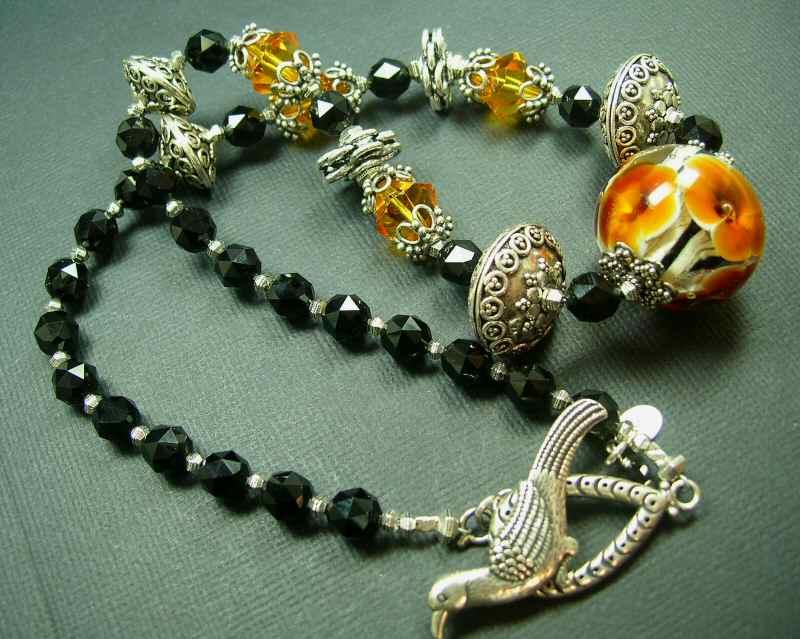 5Fish - Handmade Custom Pyrex Lampwork Beads by Karl Tseu
