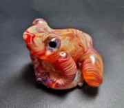 Flamework - 5Fish - Handmade Borosilicate/Pyrex Glass Lampwork Sculptures by Karl Tseu